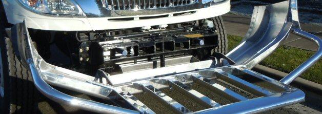 Magnum Aluminum Moose Bumper #17052 - Florida Shores Truck